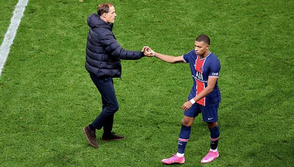 Thomas Tuchel llevó al PSG a la final de la Champions League 2020. (Getty)