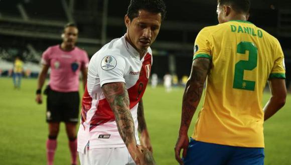 Gianluca Lapadula fue titular y jugó 66 minutos ante Brasil por la Copa América. (Foto: Depor)