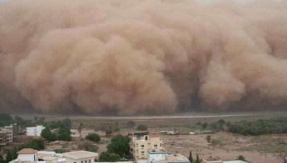 Polvo del Sahara en México 2021: todo lo que tienes que saber de la llegada de este fenómeno al país azteca. (Foto: Twitter)