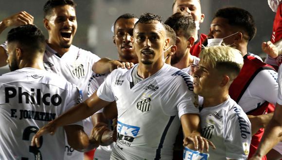 Boca se despide con una amarga derrota ante Santos de la Copa Libertadores 2020. (EFE)