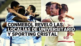 CONMEBOL dio a conocer localía de Universitario y Sporting Cristal ante brasileños