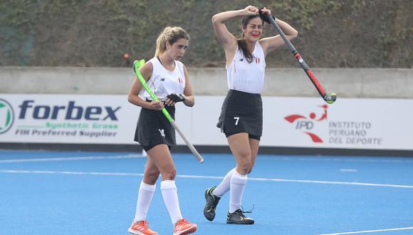 Selección peruana femenina de hockey se proclamó campeona del Pan American Challenges 2021. (Foto: Hockey Perú)