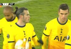 El segundo desde que regresó: el gol de Gareth Bale para el 1-1 de Tottenham vs. LASK por Europa League [VIDEO]