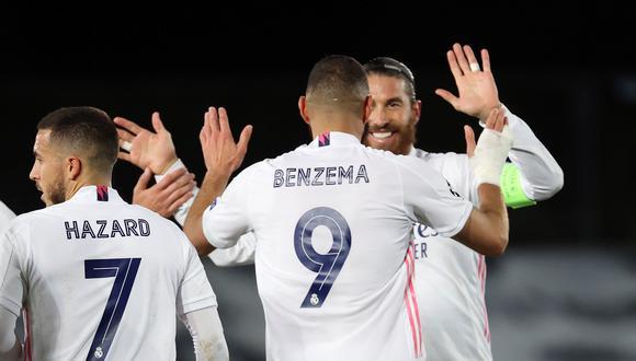 Real Madrid vs. Inter de Milán por la Champions League. (Foto: AFP)