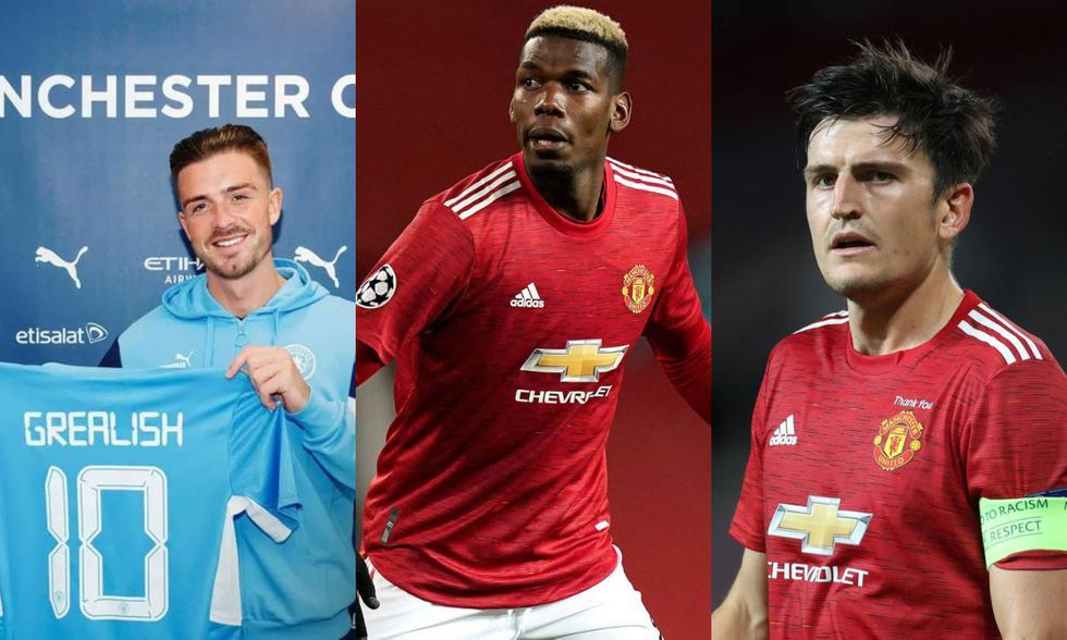 Los fichajes más caros en la historia de la Premier League. (Fotos: Agencias)