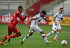 Con gol de Hugo Ángeles: Sport Huancayo empató 1-1 con Liverpool de Uruguay en la Copa Sudamericana