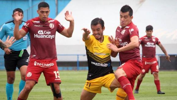 Universitario y Cantolao chocaron en el Gallardo. (Foto: Liga 1)