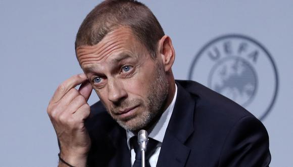 El presidente de la UEFA ratificó que habrá sanción contra los clubes fundadores de la Superliga. (Foto: Reuters)