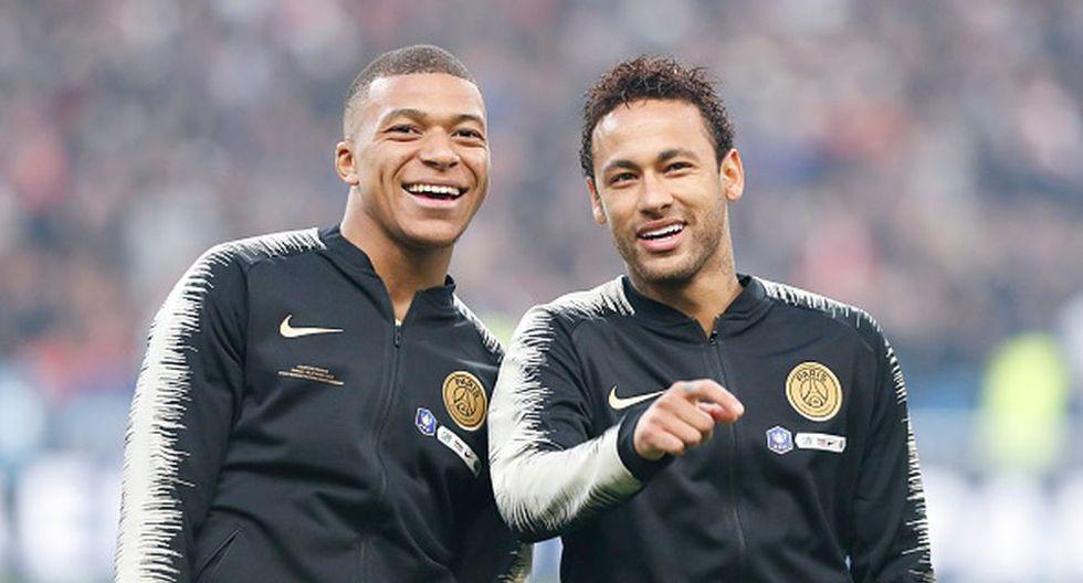 Mbappé y Neymar llegaron al PSG en la temporada 201/18. (Getty)
