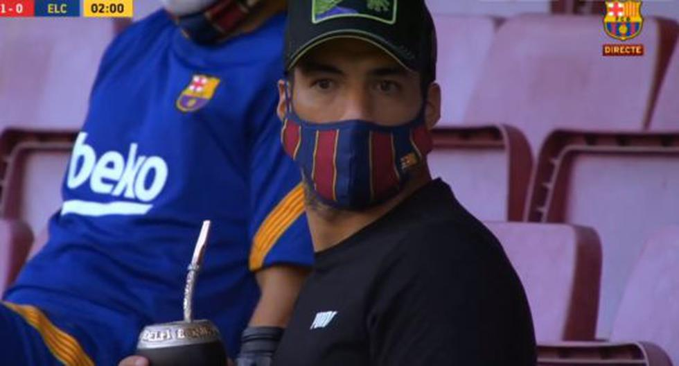 España: Barcelona vs. Elche: la reacción de Luis Suárez al gol de Antoine Grie | NOTICIAS DEPOR PERÚ