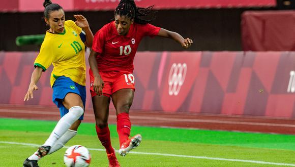 La selección femenina de Brasil nunca ha podido ganar un mundial ni los Juegos Olímpicos. (Foto: AFP)