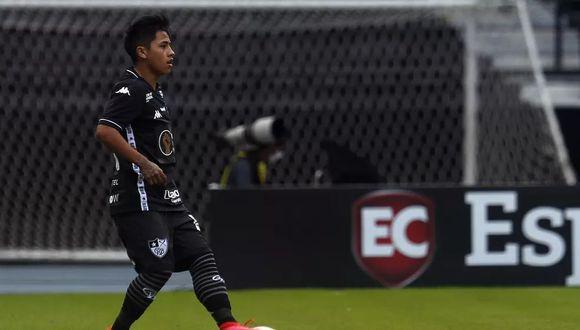 Alexander Lecaros llegó a Botafogo procedente de Real Garcilaso. (Foto: Globoesporte)