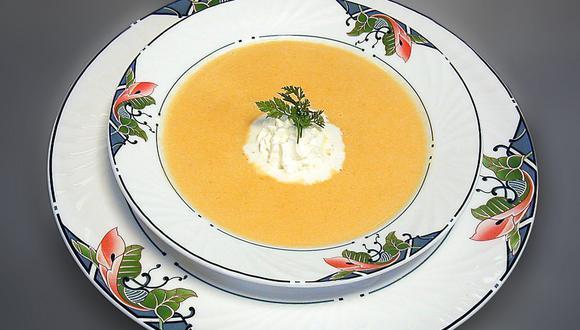 La crema de zanahorias es una sopa muy nutritiva y saludable. (Foto: Albert Häsler / Pixabay)