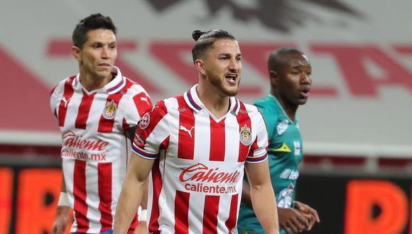 Chivas vs. León se enfrentaron por semifinales de la Liguilla MX. (Foto: Twitter)