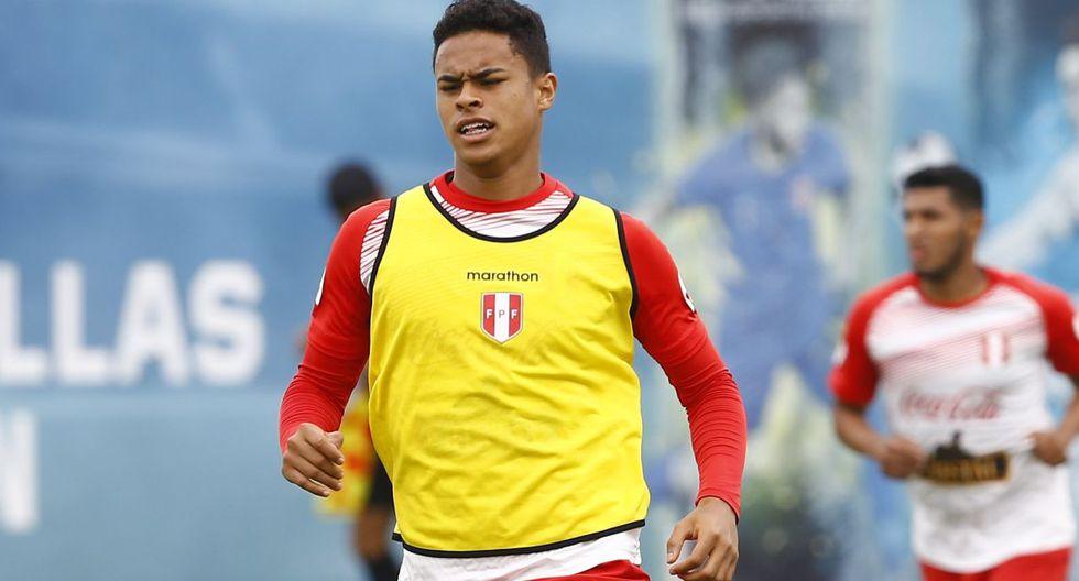 Christopher Olivares será suplente en el Perú vs. Uruguay. (Foto: GEC)