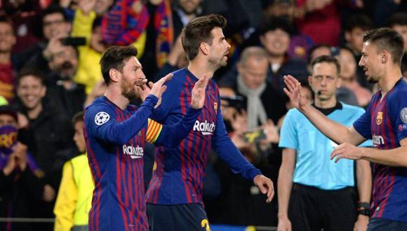 Barcelona esperará rival para las semifinales de Champions League. (Foto: AFP)
