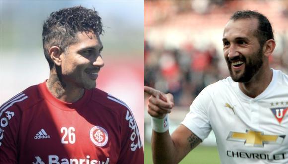 Hernán Barcos contó que sí se enfrentó a Paolo Guerrero (Foto:DIFUSIÓN)