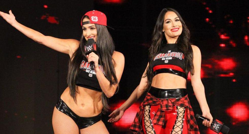 WWE: Nikki y Brie Bella serían introducidas al Salón de la Fama 2020. (WWE)