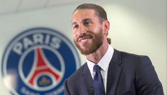 Sergio Ramos firmó por dos temporadas con el Paris Saint-Germain. (Foto: PSG)