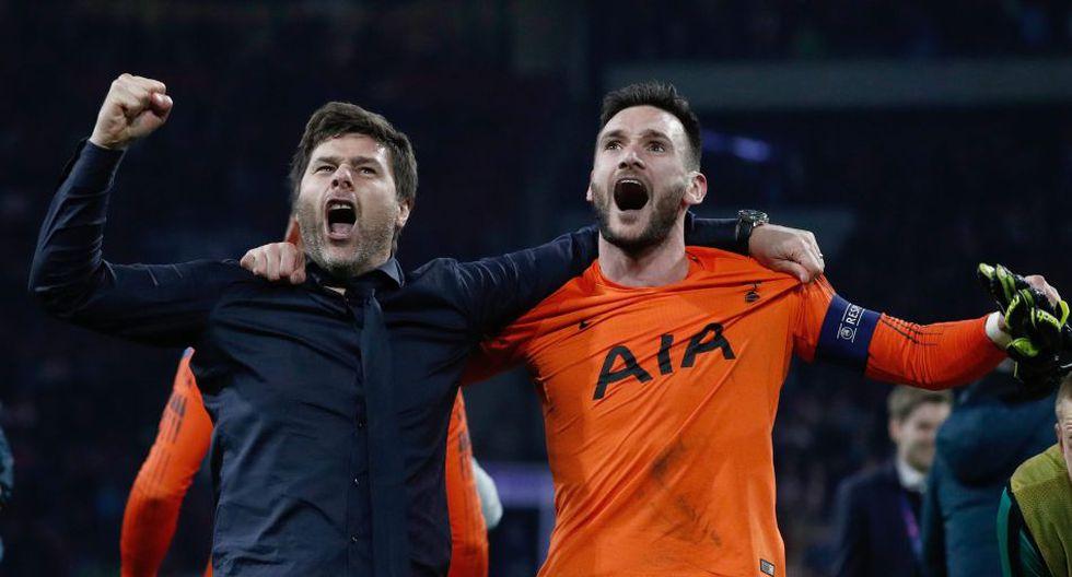 Pochettino alcanzó la final de la Champions League por primera vez en su carrera. (AFP)