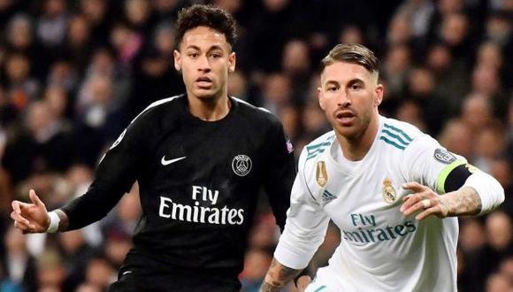 Sergio Ramos será compañero de Neymar en el PSG. (Foto: Getty)