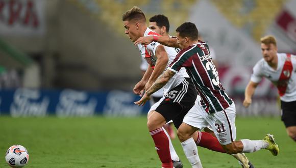 River y Fluminense empataron en su estreno por la Copa Libertadores 2021. (Foto: Conmebol)