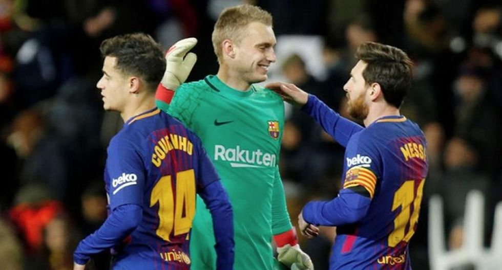 Crack del Barcelona se lesiona y no jugará contra Real Madrid por Copa del Rey. (Getty)