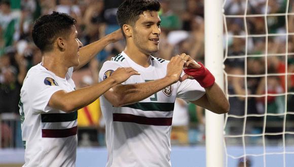 Raúl Jiménez acompañará a la selección mexicana en la jornada de FIFA. (Foto: AFP)