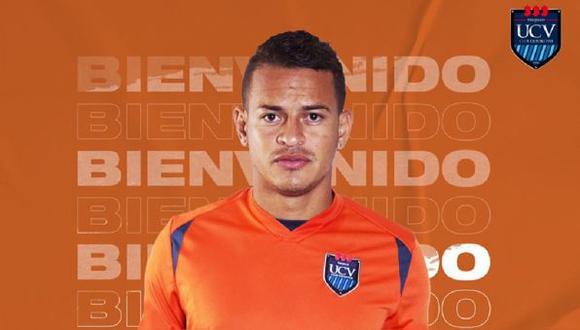 Donald Millán fue fichado por la Universidad César Vallejo para la temporada 2021. (Foto: Twitter)