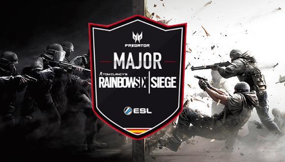 Liga Predator de Rainbow Six Siege. (Foto: Internet)