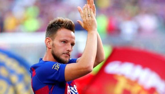 Ivan Rakitic llegó al Barcelona en 2014 desde el Sevilla. (Getty)