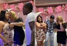 Joven organiza una fiesta y revela a todos que su novio es el amante de su madre