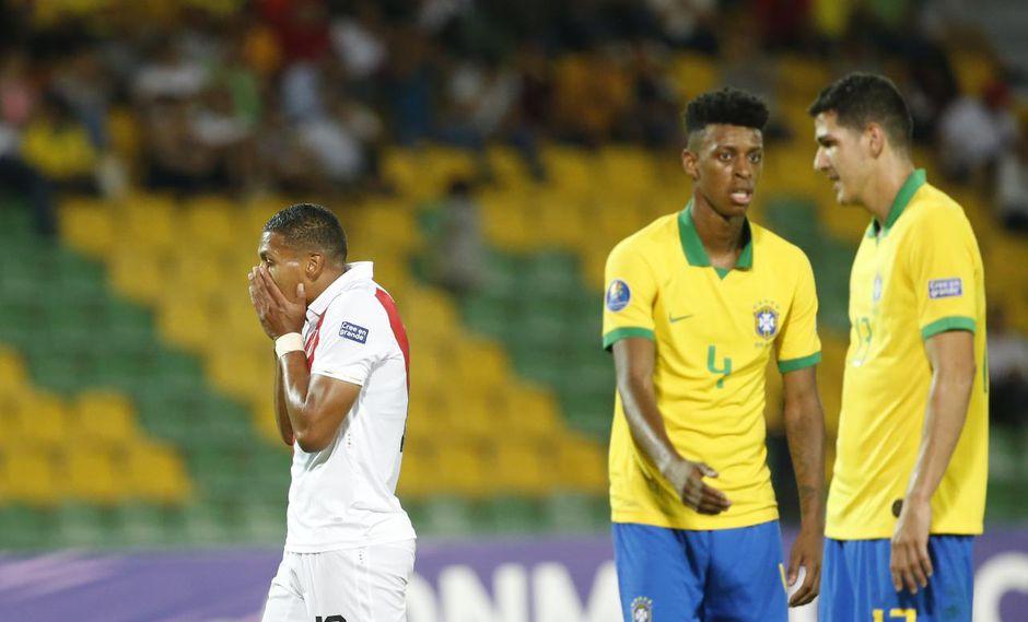 Perú perdío ante Brasil en su debut en el Preolímpico. (Foto: Violeta Ayasta)