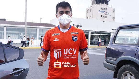 Rodrigo Cuba firmó por la Universidad César Vallejo por todo el 2021 (Foto: Universidad César Vallejo)
