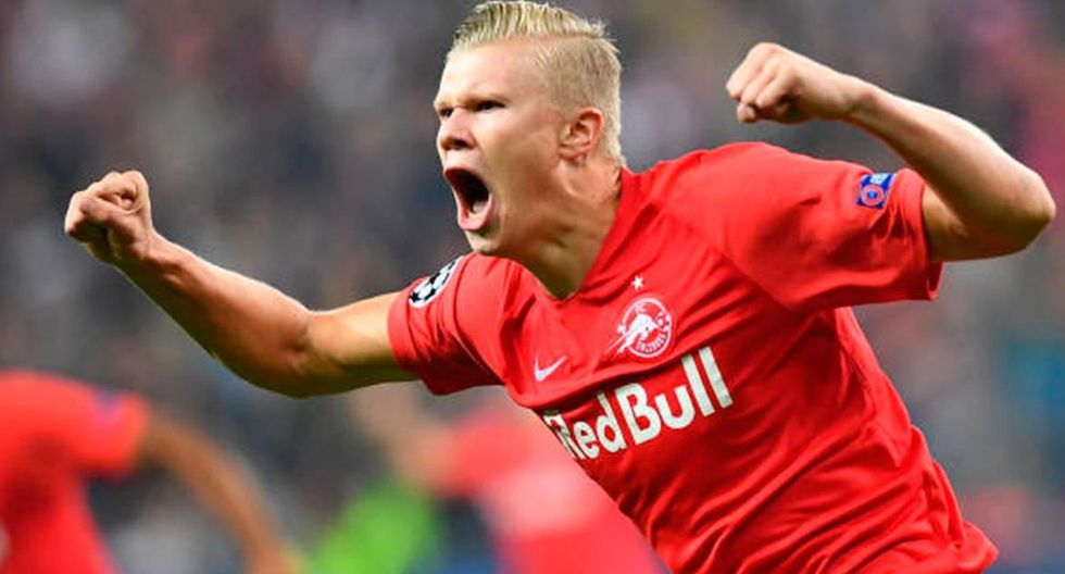 Erling Haland | Red Bull Salzburg | Valor: 12 millones de euros. (Getty Images)