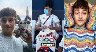 Tokio 2020: Competidor es captado tejiendo en plena competencia de clavados