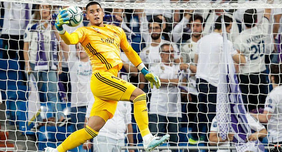Alphonse Areola está cedido en el Madrid hasta el final de la temporada. (Getty Images)