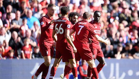 Liverpool venció 2-0 a Wolves y se quedó con las ganas de coronarse campeón de la Premier League. (Getty Images)