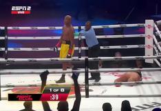 Lo mandó a dormir: Anderson Silva noqueó a Tito Ortiz en velada boxística entre leyendas de UFC [VIDEO]