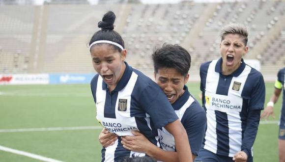 Alianza Lima venció 1-0 a Universitario y consiguió por primera vez el título de la Liga Femenina. (Foto: Liga de Fútbol Femenino)