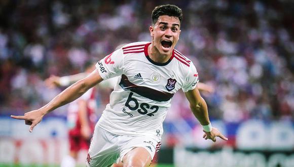 Reinier Jesus ganó la Copa Libertadores 2019 con el Flamengo. (Foto: Getty Images)
