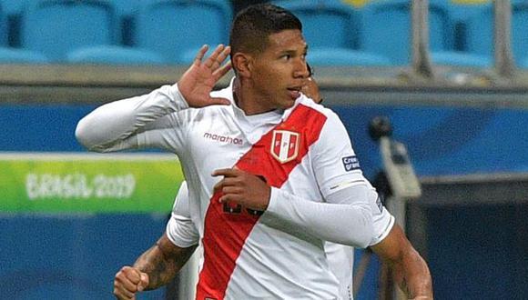 Edison Flores fue la primera baja confirmada para la Copa América.  (Foto: AFP)