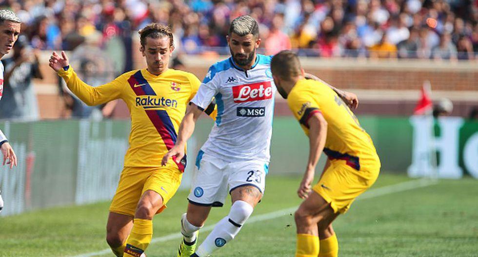 Barcelona vs. Napoli: fecha, horarios y canales del partido por octavos de final de Champions League. (Getty)