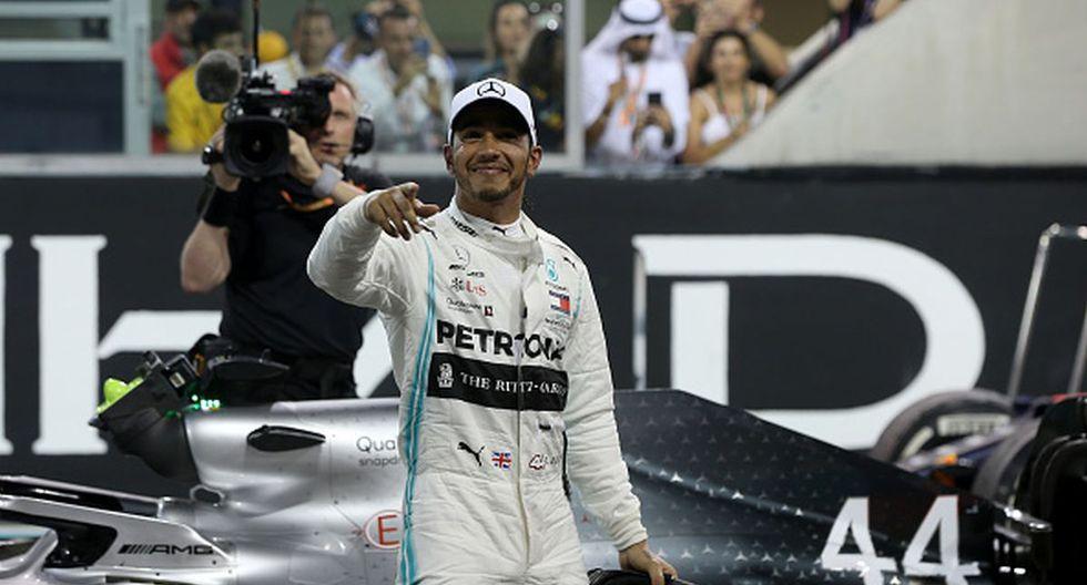 Lewis Hamilton ganó 11 Gran Premios en esta temporada. (Foto: Getty Images)