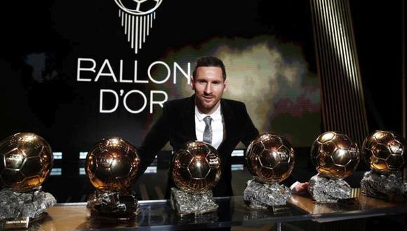 Messi ganó el Balón de Oro en 2019. (Foto: EFE)