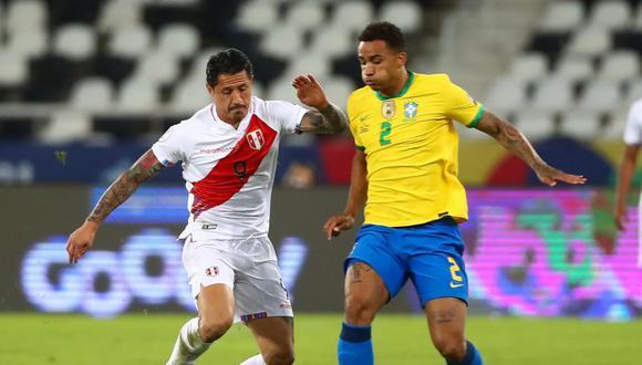 Perú vs. Brasil jugaron en Río de Janeiro por la Copa América (Foto: FPF)