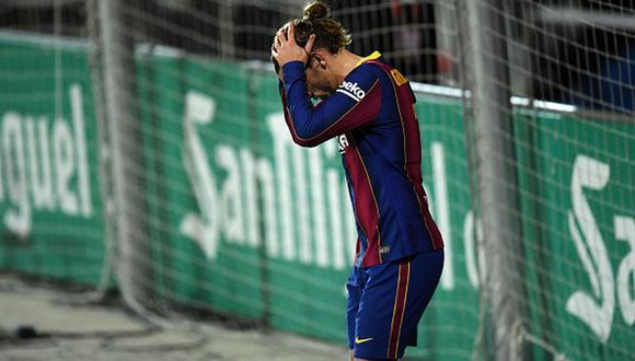 Barcelona falló dos penales en partido ante Cornellá por Copa del Rey. (Getty)