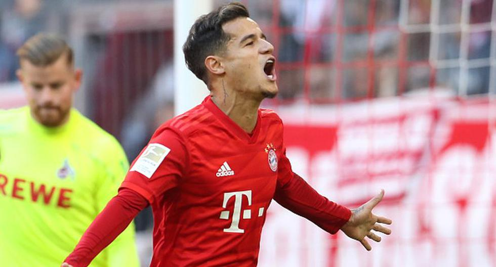Bayern Munich aplastó 4-0 al Colonia por la Bundesliga. (Getty Images)
