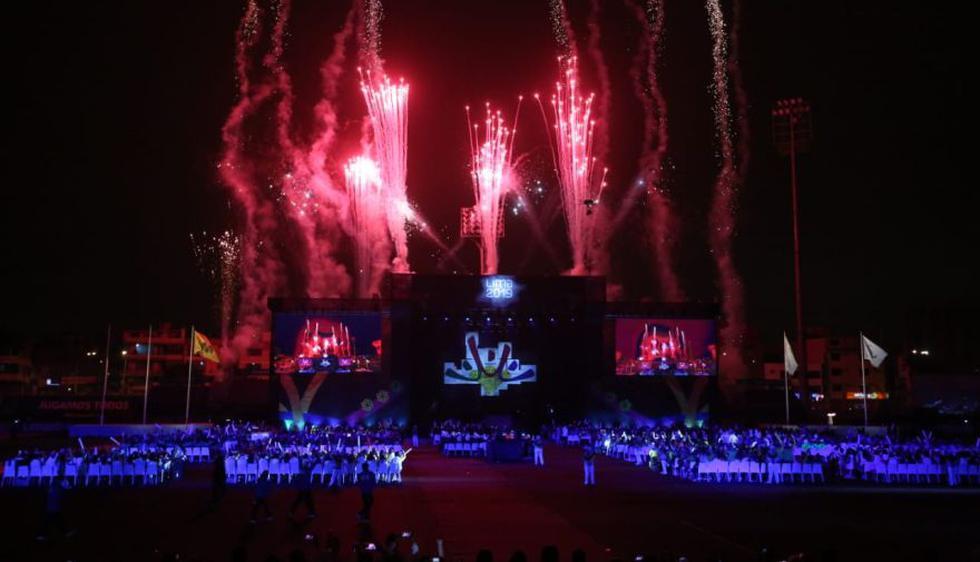 La Ceremonia de Clausura de los Juegos Parapanamericanos Lima 2019. (Fotos: Grupo El Comercio)