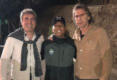 Ricardo Gareca se reunió con Raúl Ruidíaz en México